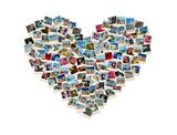 Travel+passion+-+heart+shaped+collage+made+of+world+photos