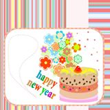 Banners+with+flowers+on+Happy+new+year+or+Christmas